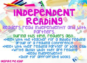 Reading workshop independent reading