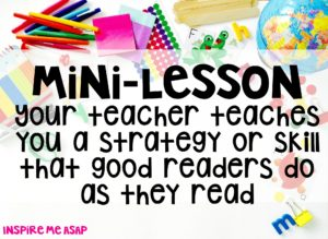 reading workshop - mini lesson