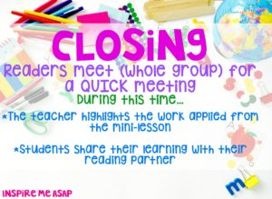 reading workshop closing