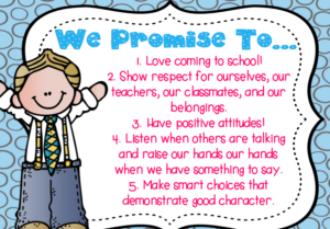 classroom promise