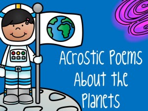acrostic poems about the planets