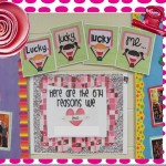 Lucky, Lucky, Lucky, Me Bulletin Board Idea