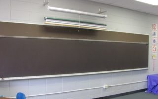 Arrival of White Boards!