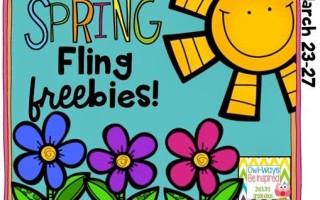 Spring Fling Freebies!
