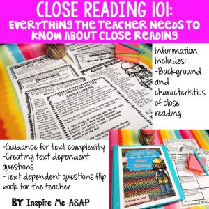 Looking to implement close reading into your primary classroom? This blog posts gives you information about what is is and to use the strategies in your classroom.
