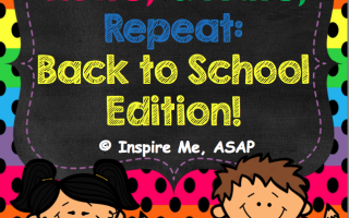 Creative Writing Activity for Beginning of School Year