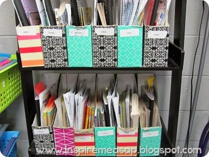 organization for book nooks