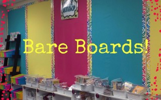 Beginning of the Year Bulletin Boards