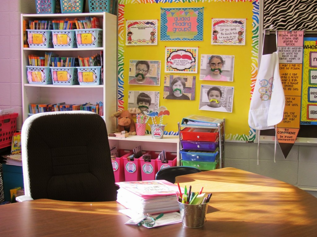 guided reading table