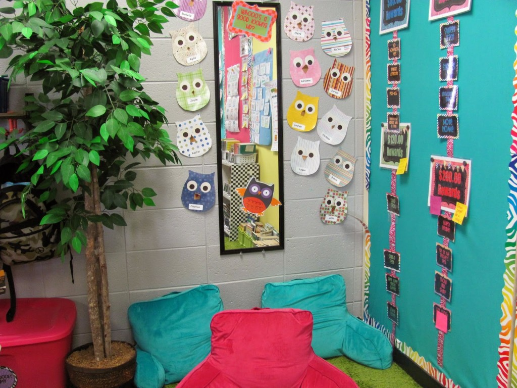 reading nook for students