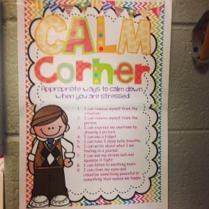 calm down corner