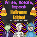 write rotate repeat halloween