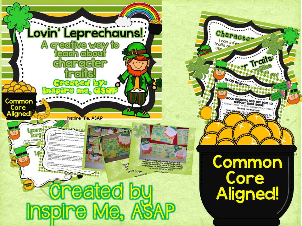 Classroom Leprechaun Ideas ~ Leprechaun character traits inspire me asap