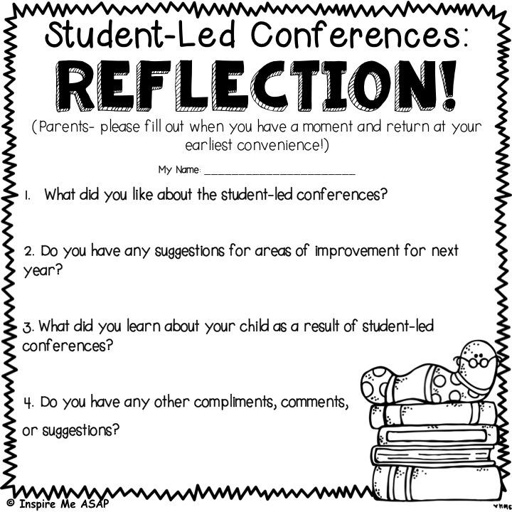 Student Led Conferences - Inspire Me ASAP