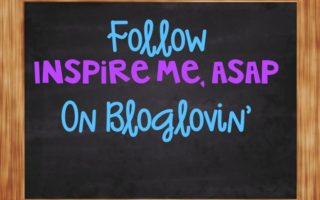 Follow my blog on Bloglovin!