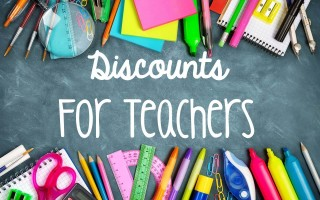 Discounts for Teachers!
