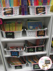 Do your students use book nooks to hold their reading workshop materials? This blog post talks about what materials are kept in the book nooks of these third grade readers.