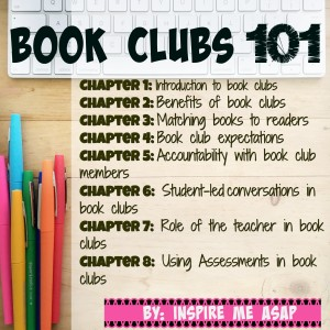 The perfect guide for implementing book clubs in the classroom with your 3rd and 4th grade teachers to get started with reading book clubs.