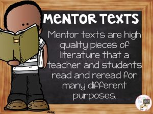 In this blog post, I write about what a mentor text is and how to use one for teaching effective mini-lessons during reading workshop. This article explains how to use exemplar texts to teach reading strategies and skills with your primary students.