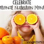 March is National Nutrition Month