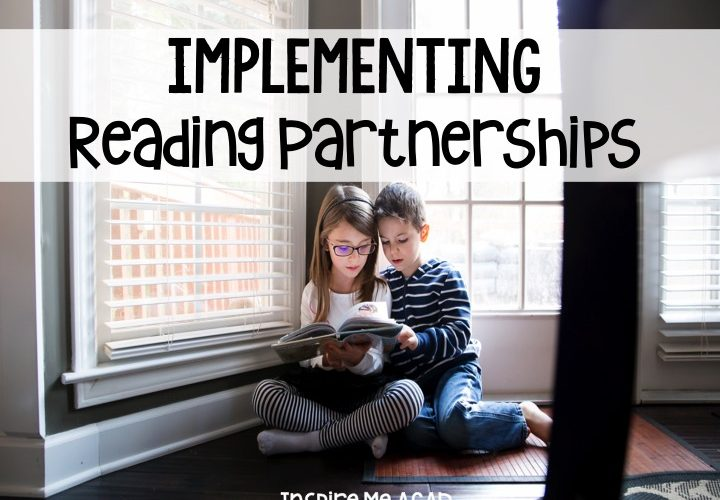 Reading Partnerships with Reading Workshop